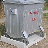 Postolja za kontejner