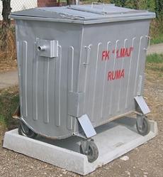 postolje za kontejner 1