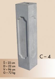 stubovi c-4